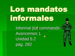 Mandatos informales.5.2