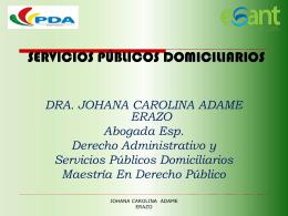 generalidades de los servicios públicos - inicio