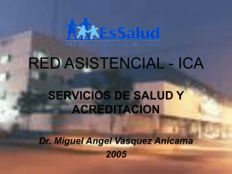 Red Asistencial – Ica