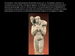 Síntesis Arte griego, por Ricardo Soto