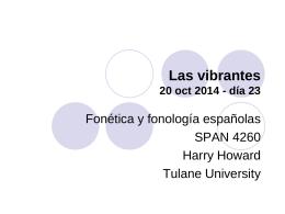 inglés español - Tulane University