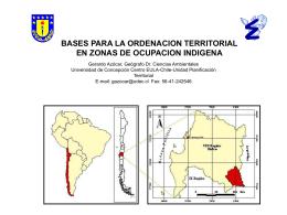 jornada sobre la población indígena en chile