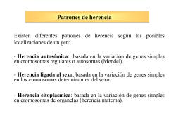 Genética Mendeliana - genoma . unsam . edu . ar