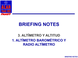 BRIEFING NOTES - Flight Safety Foundation
