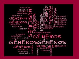 Apuntes sobre géneros musicales