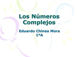 Los Números Complejos - Aprendizaje significativo