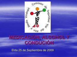 MEDICACIÓN Y CONDUCIIÓN
