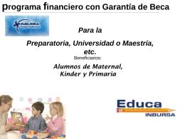 PRESENTACION DE VENTAS Educa