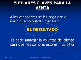 1o Pilar: EL Proceso