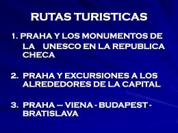 RUTAS TURISTICAS - infinitumtravel.cz