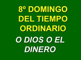 6º DOMINGO DEL TIEMPO ORDINARIO