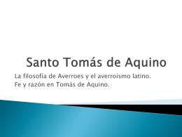 Santo Tomás de Aquino (2)