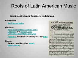 Roots of Latin American Music - Cal State LA