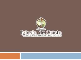 NECESITADO de DIOS - iglesiadecristotuc.org.ar