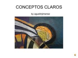 CONCEPTOS CLAROS