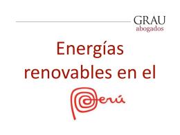 Vito Verna ENERGÍAS RENOVABLES EN EL PERU