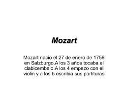 Mozart - quintoalicenciados