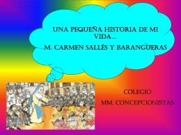 MADRE CARMEN PRIMARIA - Concepcionistas Misioneras de