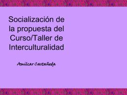 capacitacion interculturalidad cultura