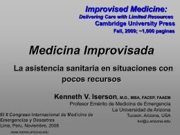 Medicina Improvisada - Recursos Educacionales en Español para