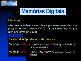 Memórias Digitais