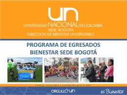 Link de la presentación - Sede Bogotá UN