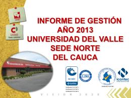 Presentación de PowerPoint - Sede Norte del Cauca