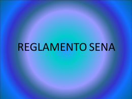 REGLAMENTO SENA