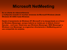 Microsoft NetMeeting - EPET Nro. 3