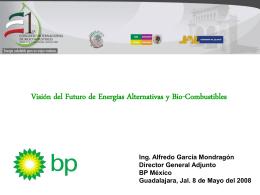 Alfredo García - British Petroleum Salón de Conferencias Uno