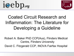 Coated Circuit Research and Inflammation: The Literature for
