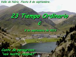 Salmo 89 - Tiempo Ordinario 23 C