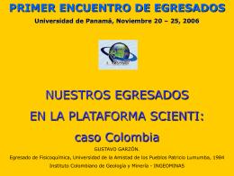 programa nacional de ciencia y tecnologías