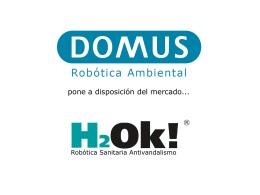 Diapositiva 1 - Domus Robótica Sanitaria