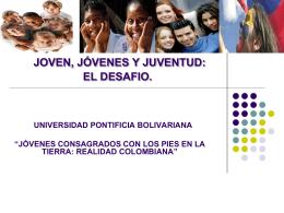 ESCENARIOS Y TRIBUS - Conferencia de Religiosos de Colombia