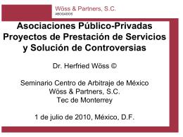 Herfried Wöss: Asociaciones Público