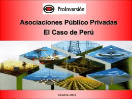 Participación Público Privada
