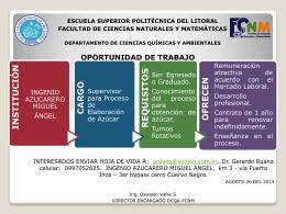 Diapositiva 1 - Departamento | Ciencias Químicas y Ambientales