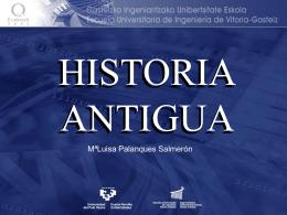 1. La Cartografía en la Antigüedad.