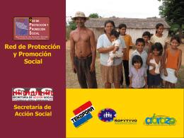 Red de Protección y Promoción Social para familias en extrema