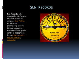 SUN RECORDS jony y miguel 2