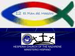 12 - El Plan del Maestro - Hesperia Church of the Nazarene