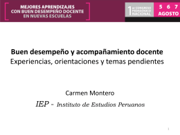 Carmen Montero Checa - Consejo Nacional de Educación