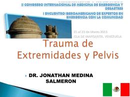 Trauma de Extremidades y Pelvis