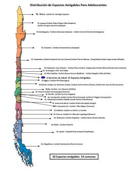 Mapa Equipos Espacios Amigables