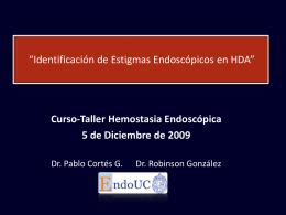 Manejo EB - Endoscopia UC