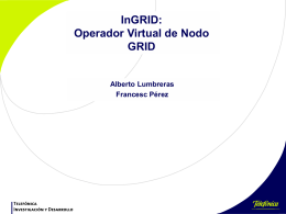 InGRID: Operador Virtual de Nodo GRID