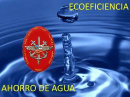 Ahorro del agua  - Comando Conjunto de las Fuerzas Armadas