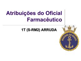 Atribuições do Farmacêutico nas forças armadas UFPA 2010