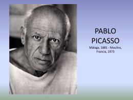 Pablo Picasso fue un artista y pintor nacido en
